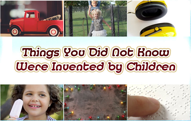 Photo of Things You Did Not Know Were Invented by Children