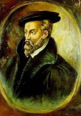 portrait of Georgius Agricola